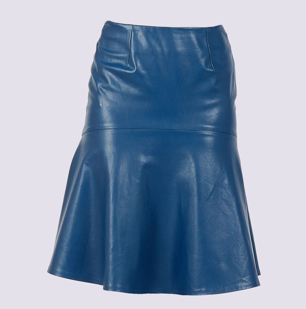 0ac9ab228 3 Ways to Wear a Leather Skirt - wikiHow